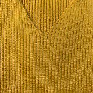 Charlotte Russe Dresses - Mustard Bodycon Dress
